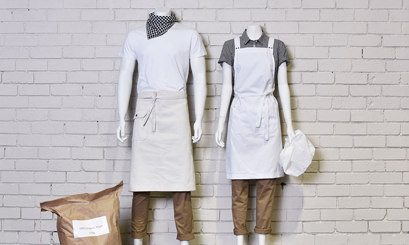Bakery cafe uniform