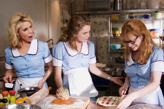 Classic American diner waitress uniform