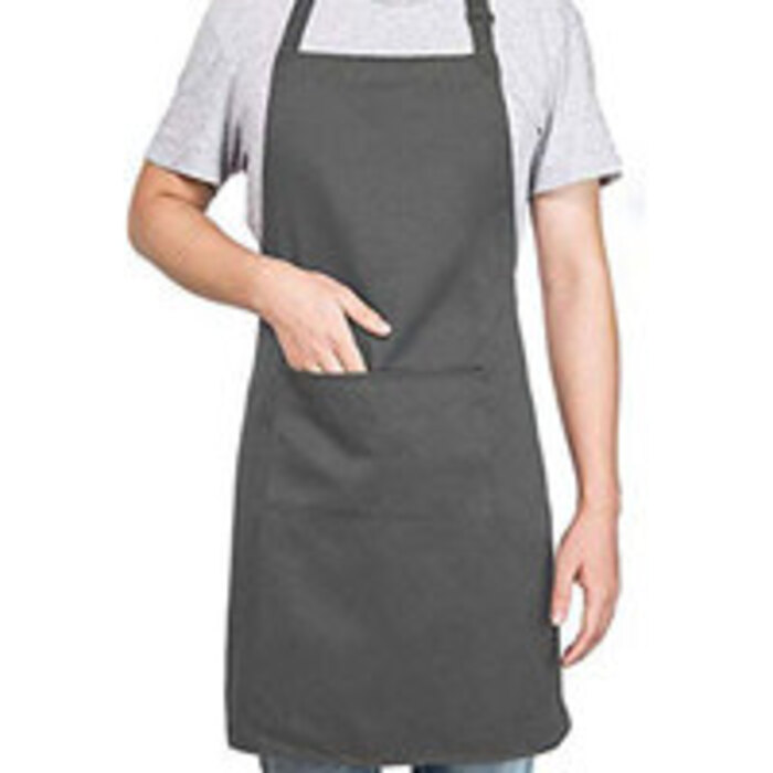 Petite Bib Apron with Front Pocket by YH