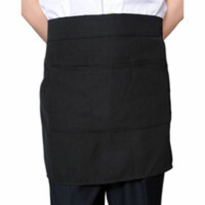 Half Apron with Front Pocket by YH