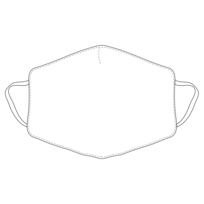Reusable Face Mask with Medical Grade Fabric by YH